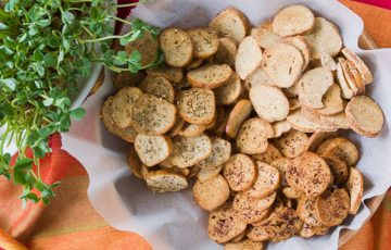 Bagel Chips recipe