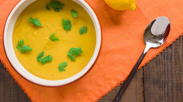 Burnt Lemon and Chana Dal Soup recipe