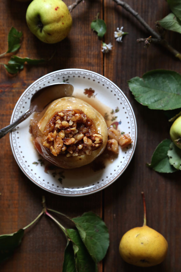 Maple Walnut Baked Apples recipe