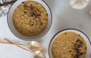 Pumpkin-Spiced Rice Pudding recipe