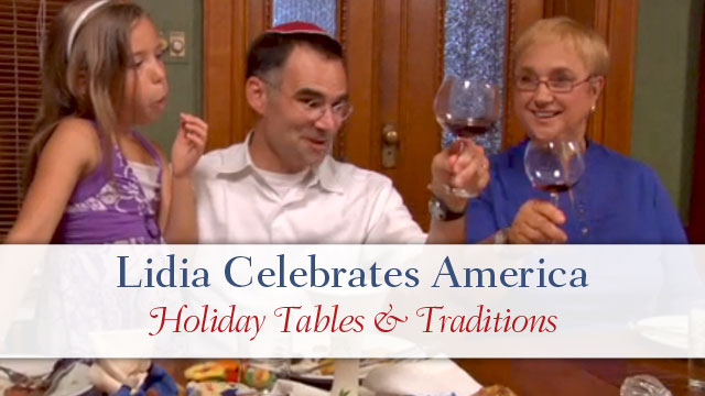 Lidia Celebrates America Holiday Tables