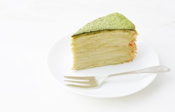 Green Tea Crepe Cake recipe