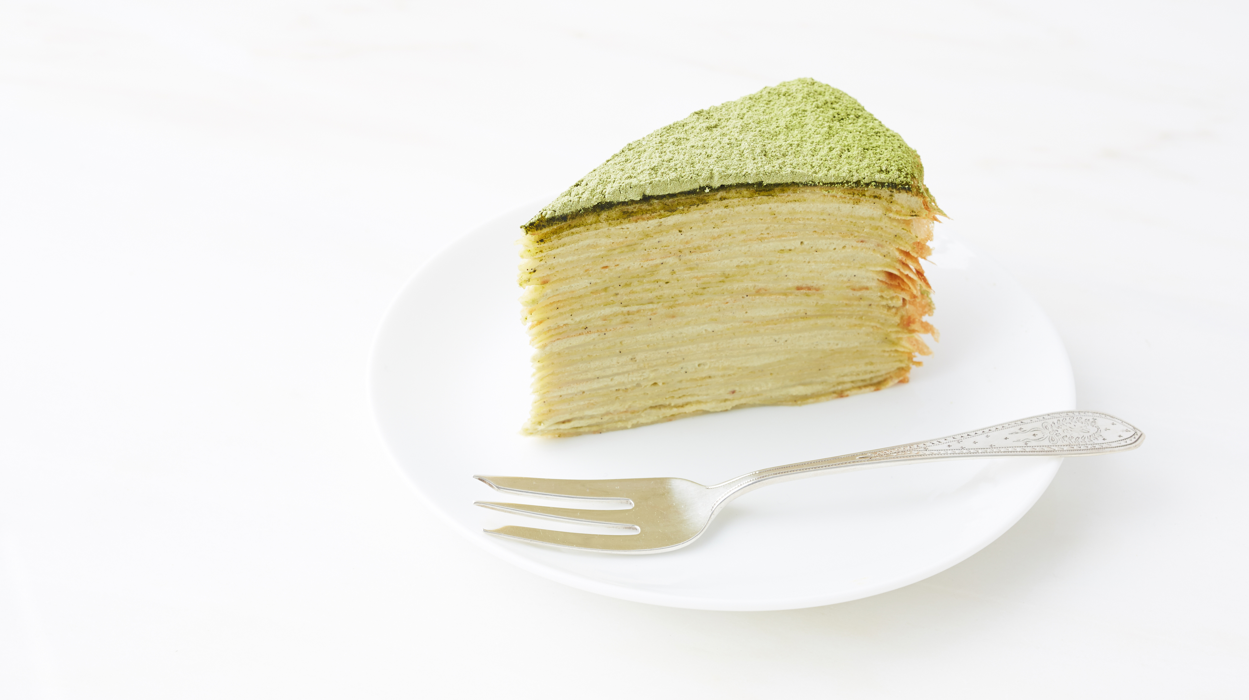 Green Tea Crepe Cake Recipe | Dessert Recipes | PBS Food