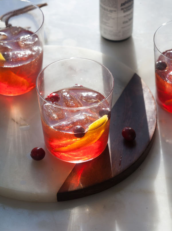 Cranberry Old-Fashioned recipe
