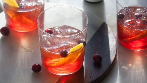 Cranberry Old-Fashioned recipe