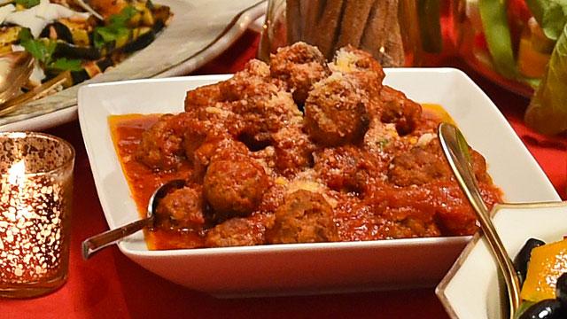 Meatballs recipe italian recipes pbs food forumfinder Images