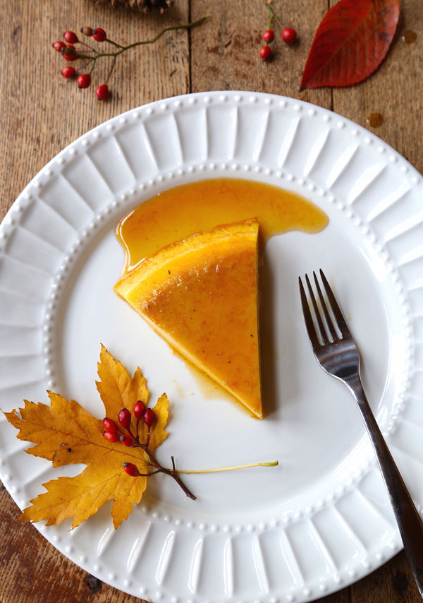 Pumpkin Maple Creme Caramel recipe