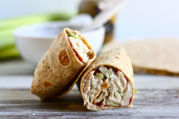 Turkey Salad Roll-Up recipe