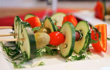 Veggie Kebabs recipe