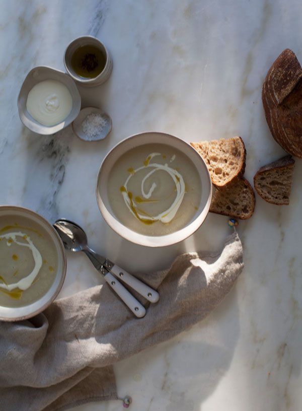 Celery Root and Pear Soup recipe
