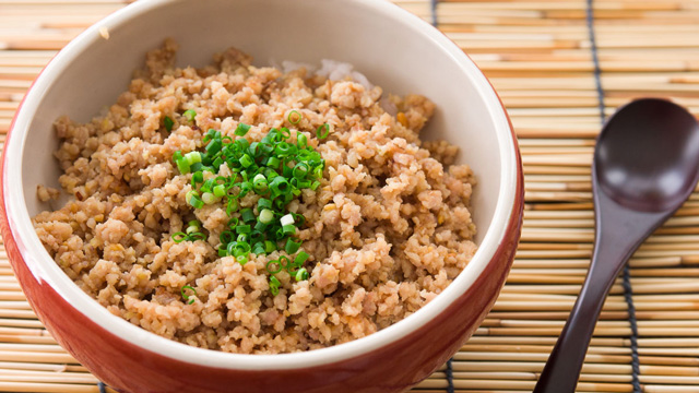 Ginger Miso Chicken Soboro Recipe | Japanese Recipes | PBS Food