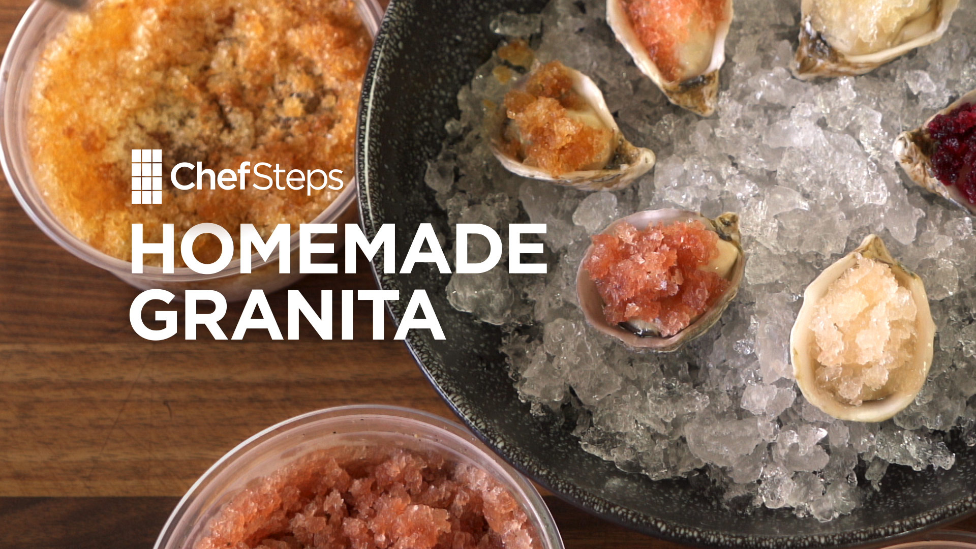 Tips & Tricks: Homemade Granita | ChefSteps | PBS Food