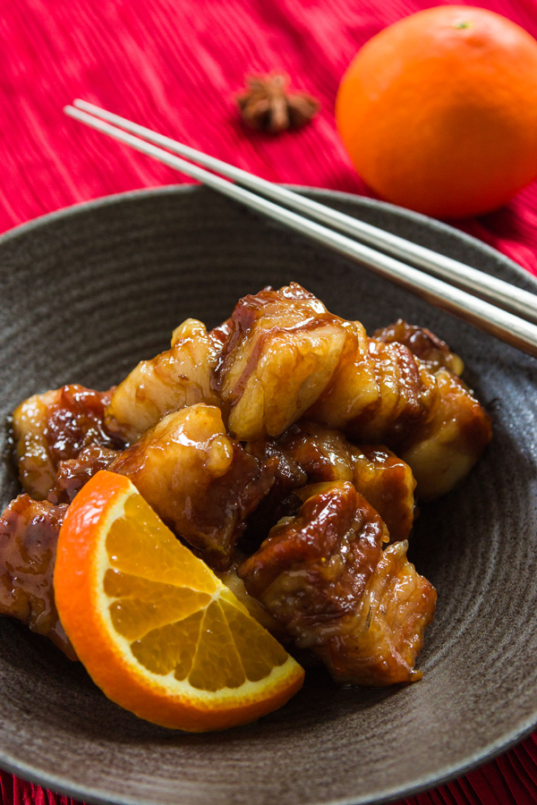 Orange-Spice Braised Pork Belly recipe