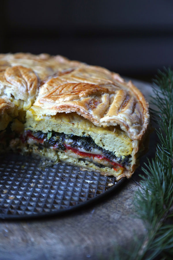 Tourte Milanaise recipe