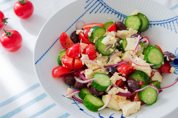 Vegan Greek Salad recipe