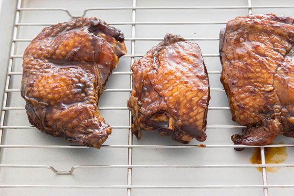 This Five Spice Chicken recipe features anise, cinnamon, cloves and pepper, and requires a multi-day marinade.