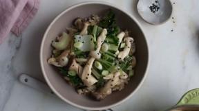 Miso Mushroom Stir-Fry recipe