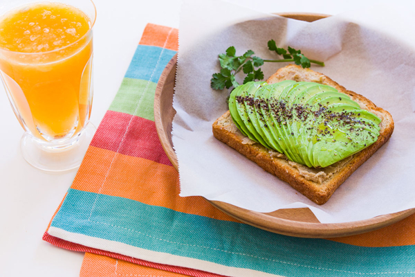 Avocado Sesame Toast is the perfect weekday meal featuring Middle Eastern flavors.
