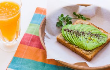 Avocado Sesame Toast recipe