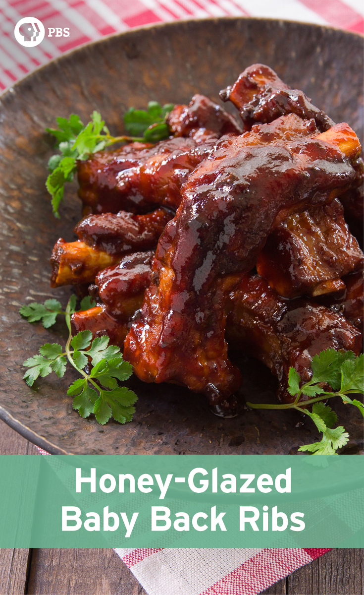 These no-fuss Honey Glazed Baby Back Ribs are easy, and come together in under 30 minutes in a pressure cooker.
