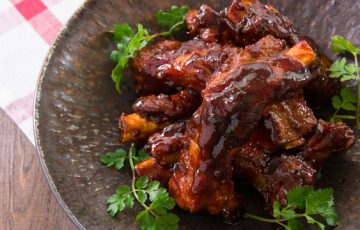 Honey Glazed Baby Back Ribs recipe