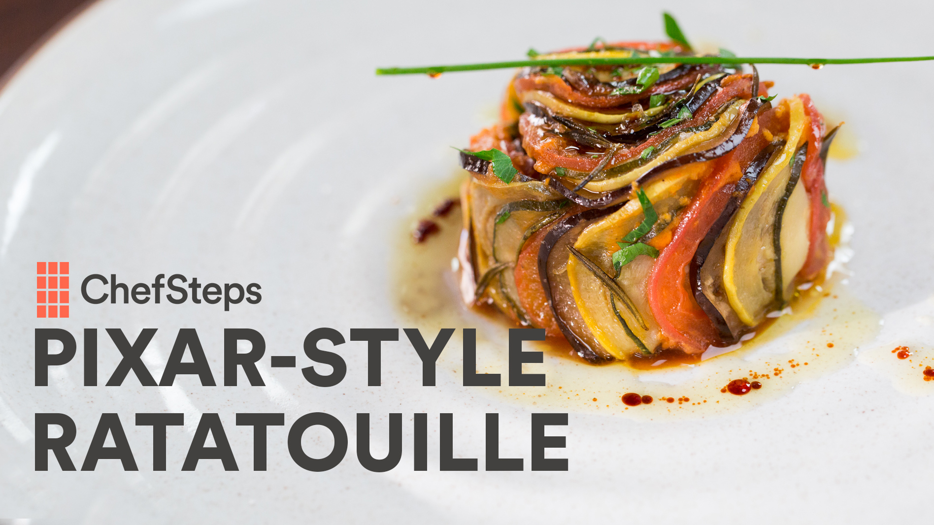 Get Creative with Pixar-Style Ratatouille | ChefSteps | PBS Food