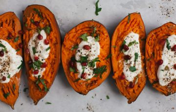 Sweet Potato Boats recipe