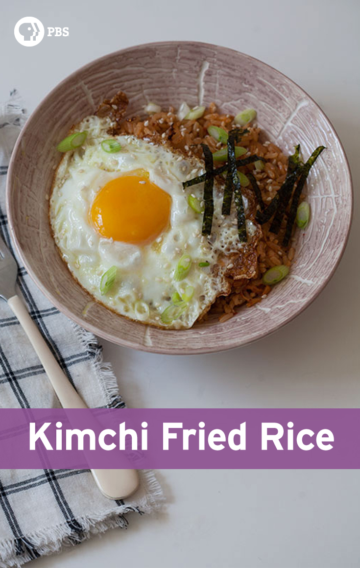 This Kimchi Fried Rice recipe is flexible depending on the ingredients you have on hand.