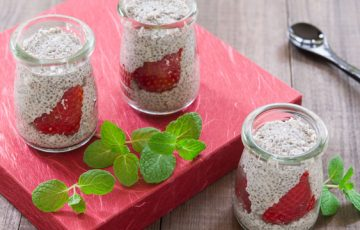 Strawberry Chia Parfait Recipe