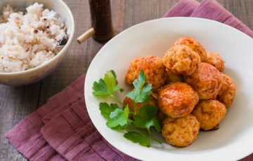Chicken Teriyaki Meatball Recipe