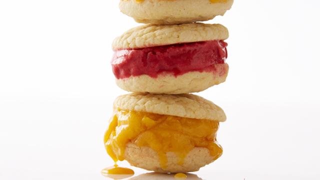 Sorbet Sandwiches Recipe