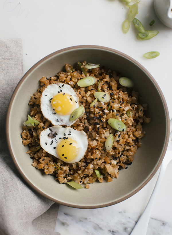 Fried cauliflower rice with quail eggs fresh tastes pbs food this fried cauliflower rice with quail eggs is a simple weeknight meal that is super healthy forumfinder Choice Image