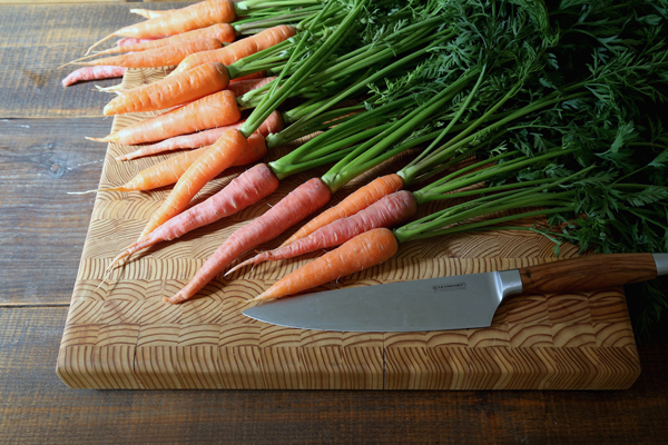 Carrot Top are edible, and make excellent pesto to pair with Roasted Carrots.