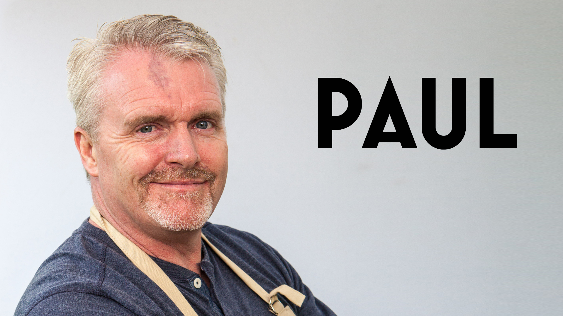 The Great British Baking Show - Paul