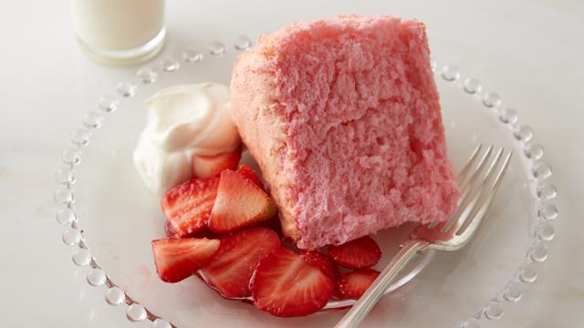 Martha Stewart Pink Angel Food Cake