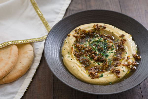 Curried Hummus adds South Asian flavors - make smooth hummus, add ...