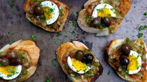 Tunisian Grilled Salad Recipe