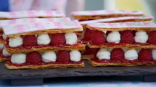 Paul's Raspberry Millefeuille Recipe