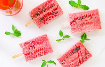 Make Watermelon Sangria Pops to combat the heat with a refreshing treat.