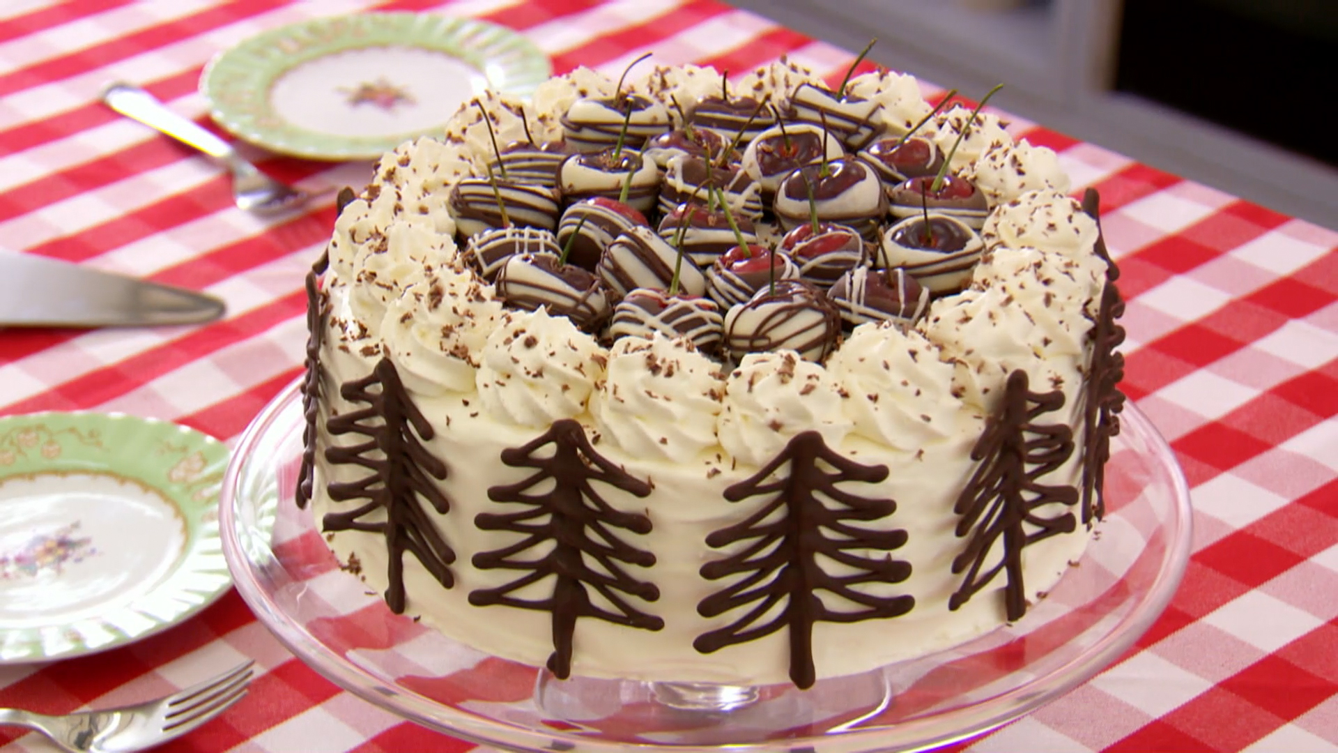 Mary S Black Forest Gateau Recipe The Great British Baking Show Pbs Food