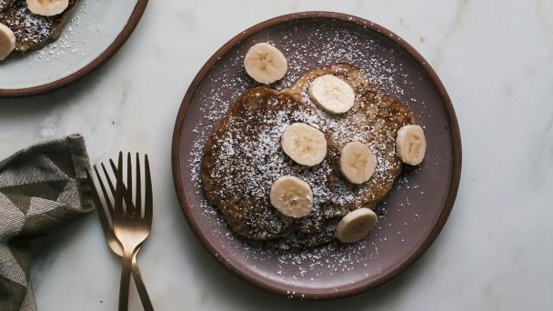 Banana Bread Pancakes recipe