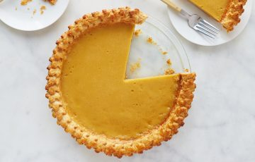 Maple Custard Pie Recipe
