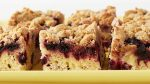 Black Raspberry Crumb Cake Recipe