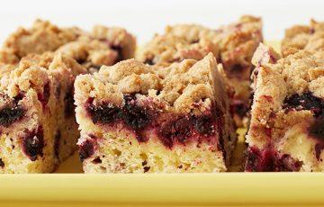 Black Raspberry Crumb Cake Recipe