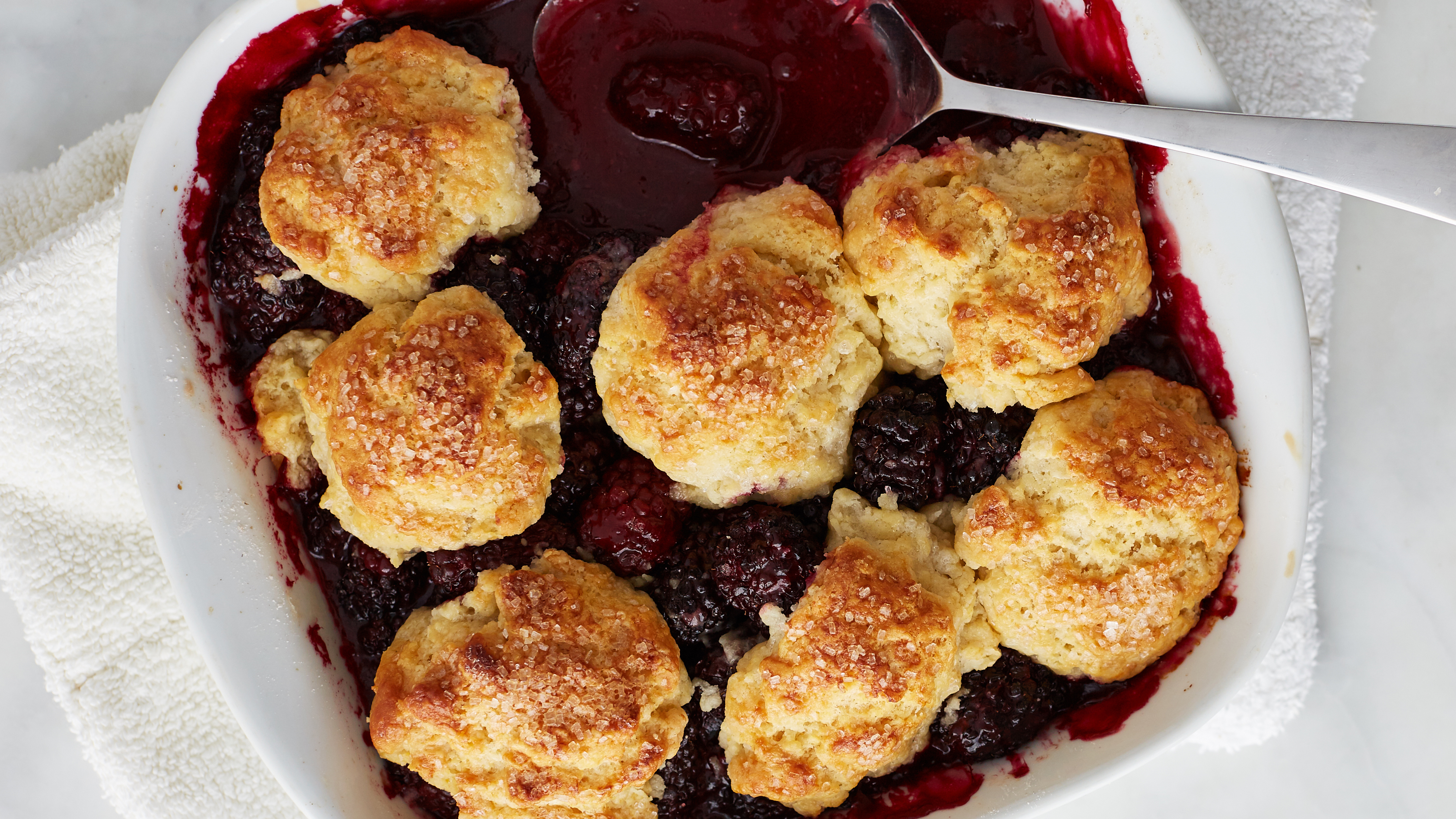 Blackberry Cobbler Recipe Dessert Recipes Pbs Food