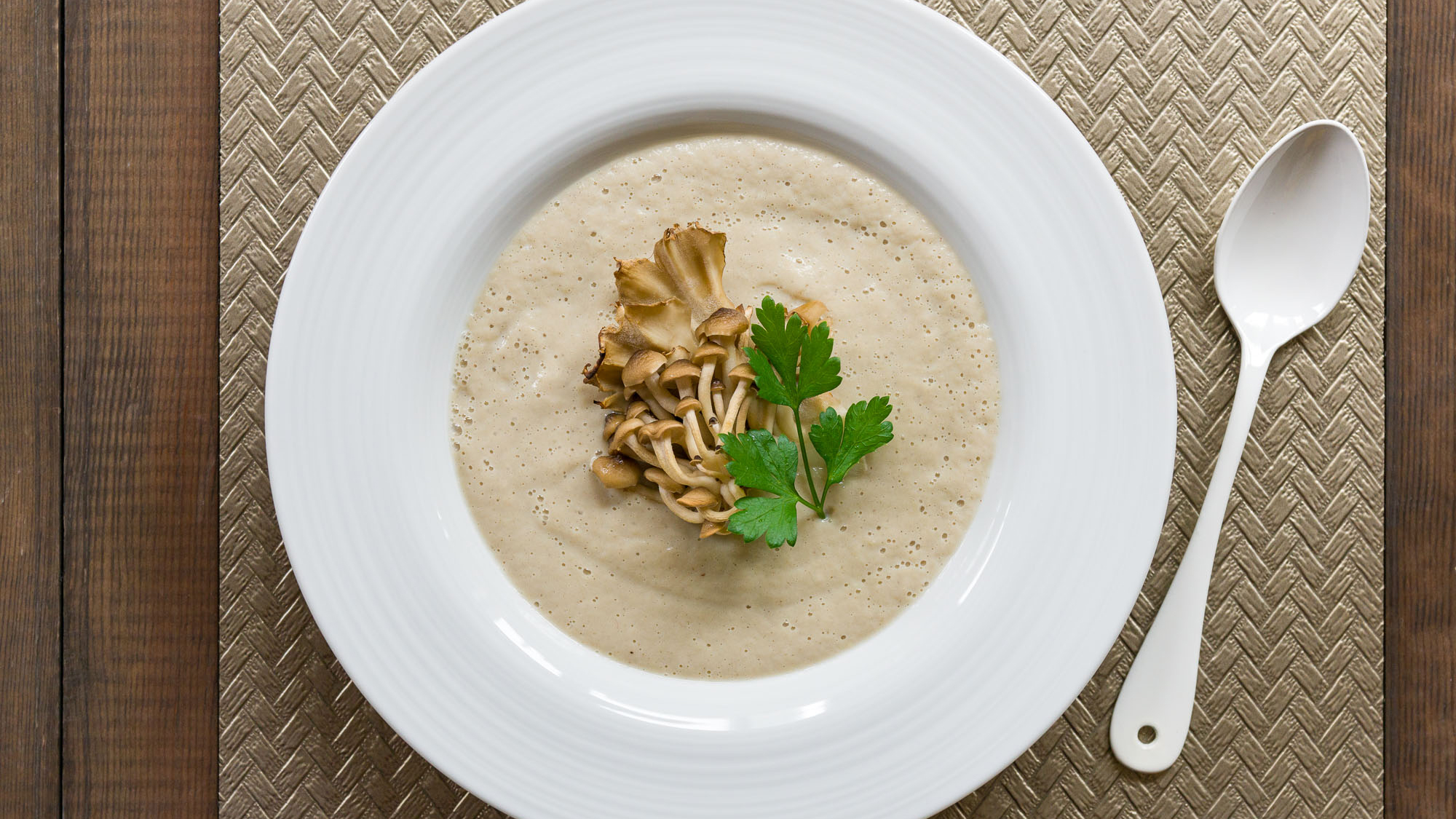 Vegan Cream Of Mushroom Soup Recipe Pbs Food