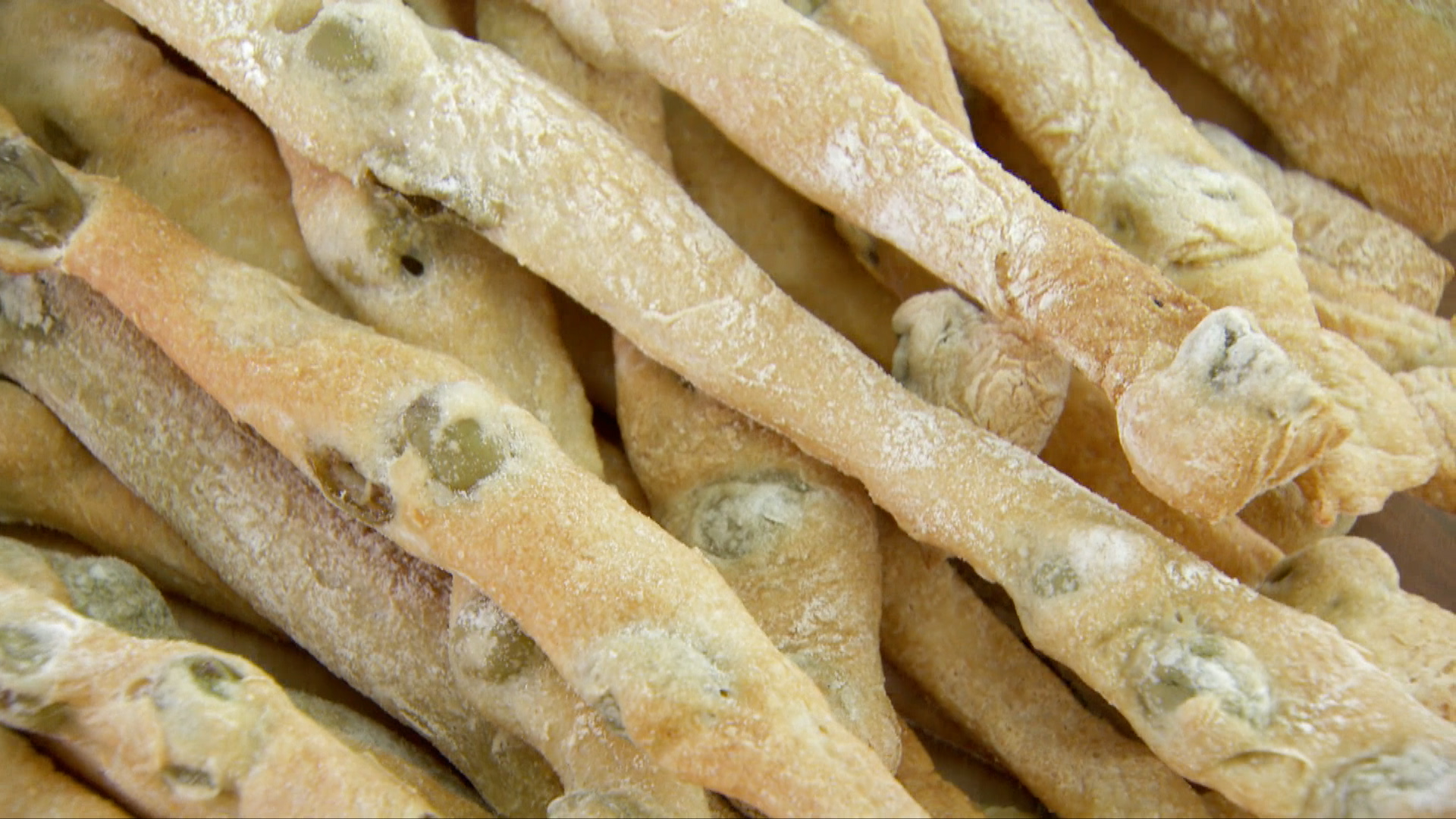 Olive Breadsticks Recipe Pbs Food