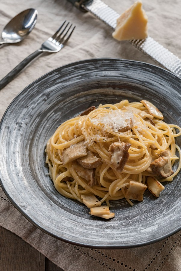 Fresh Porcini Mushroom And Pasta Recipe — Dishmaps