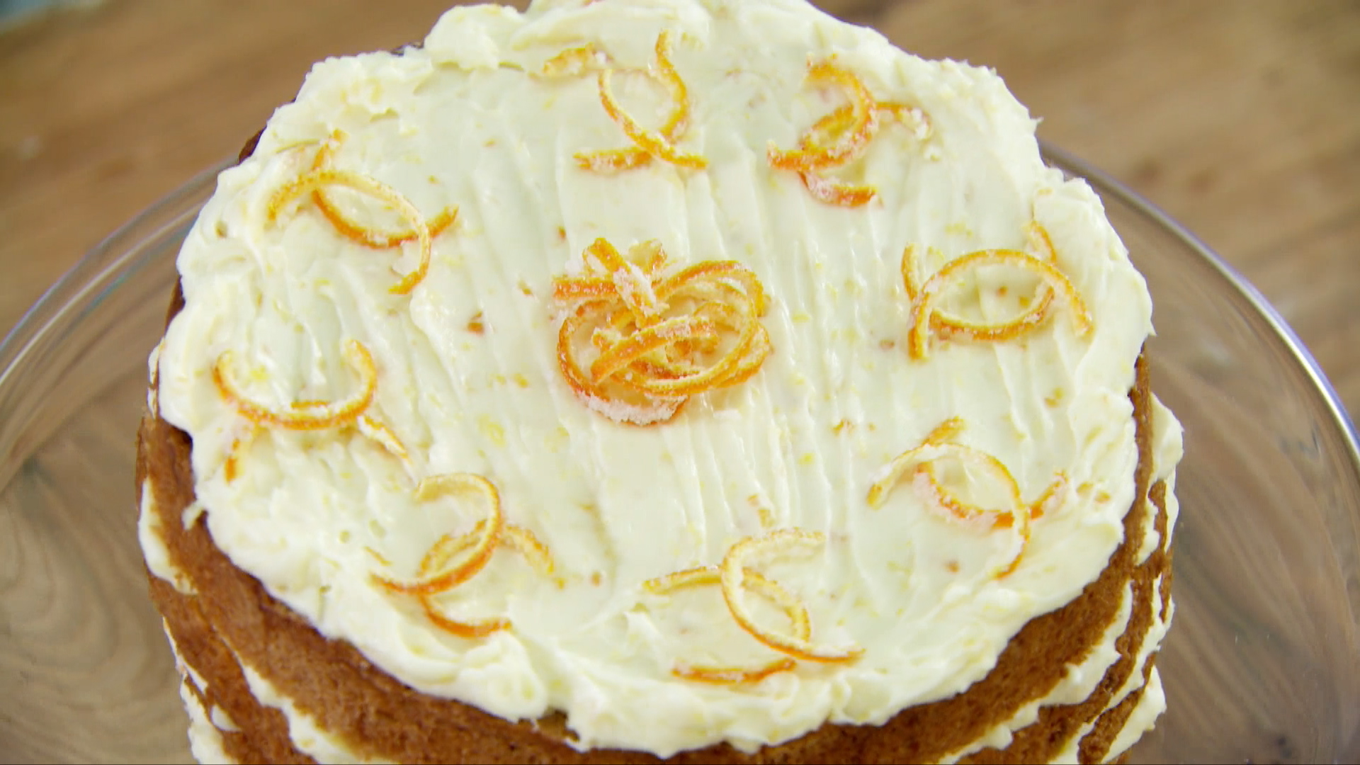 Spiced Whole Orange Cake with Orange Mascarpone Icing Recipe | PBS ...