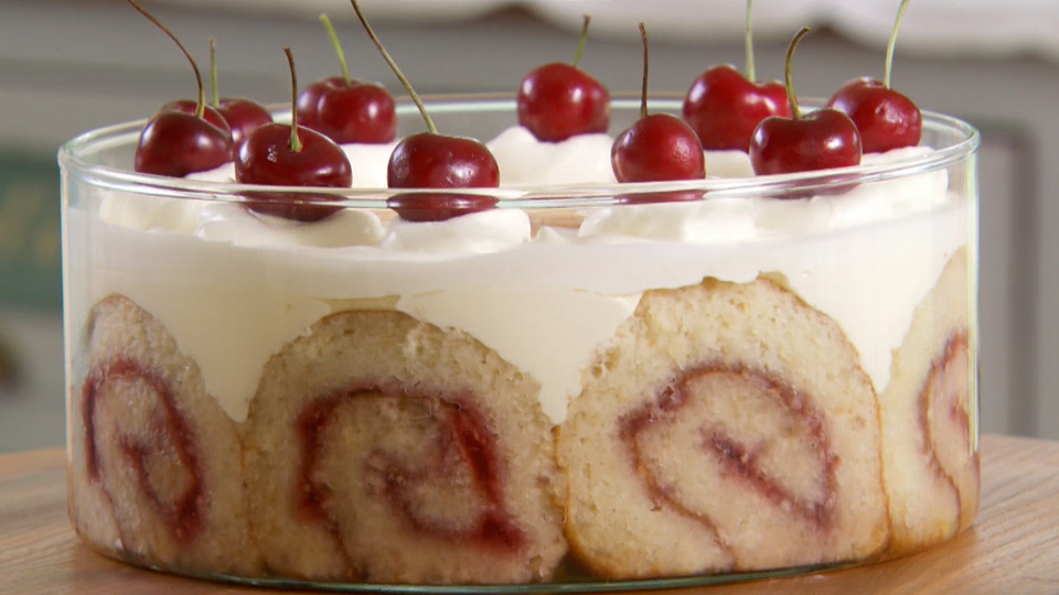 mary berry s tipsy trifle recipe pbs food